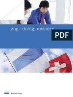 Doing business in Zug