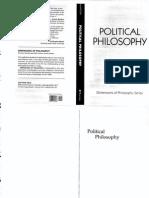 Jean E. Hampton-Political Philosophy (Dimensions of Philosophy) (1996)