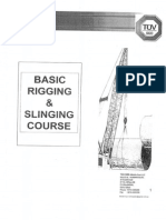 Basic Rigging & Slinging Course