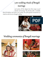 A Look At Basic PRE Wedding Rituals of Bengali Marriage