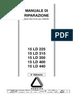 Manuale Officina GR 15 Matr 1-5302-461