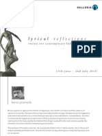 Lyrical Reflections | Sculptures