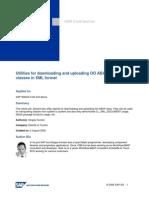ABAP Class Upload-Download Utilities