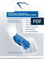 Class 10000 Iso 7 Cleanroom Cleaning