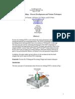 Friction Stir Welding-process Developmentannd Variant