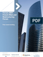 French M&A and Restructuring Forum
