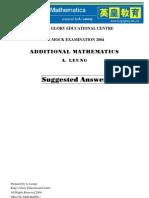 2004_Amaths_Mock1_Paper_Marking_Scheme