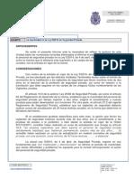 La inactividad en la Ley 5/2014 de Seguridad Privada