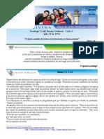 Domingo 13 de Julio de 2014 Domingo 15 Del Tiempo Ordinario Ciclo A