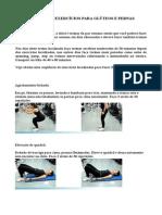 Seleção de Exercícios Para Glúteos e Pernas
