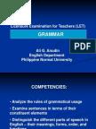 1 Grammar Review
