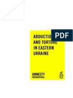 Amnesty International Ukraine Report
