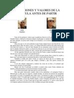 REFLEXIONES Y VALORES DE LA PELÍCULA ANTES DE PARTIR