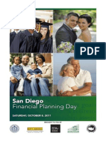 Program for San Diego Financial Planning Day, 8 October 2011