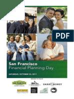 Program for San Francisco Financial Planning Day, 22 October 2011