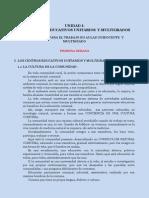 1 Los Centros Educativo Unitarios y Multigrados