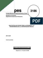 Conpes 3186 Contratacion Publica