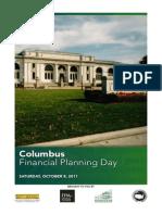 Program for Columbus (Ohio) Financial Planning Day, 8 October 2011