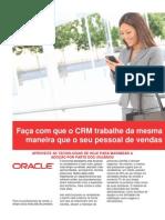 CRM - Sintonia Com o Pessoal de Vendas