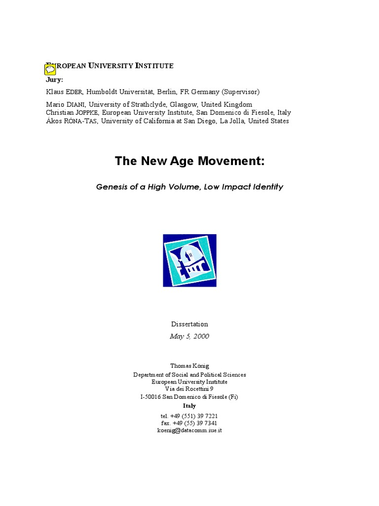 new arrival 28e43 c4766 The New Age Movement.pdf   New Age   Identity (Social Science)