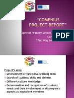 Comenius Report Greece