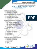 Kisi-Kisi Olimpiade Fisika Nasional 2nd Physics Summit.doc