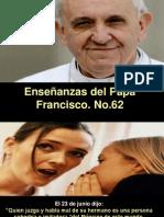 Enseñanzas Del Papa Francisco Nº 62