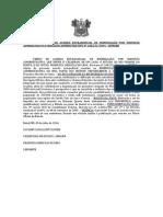 Extrato Do Termo de Acordo Extrajudicial de Indenização Por Servidão Administrativa Processo Administrativo Barragem Oiticica