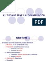 3.2. Tipos de Test y Su Construccion