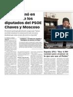 La Verdad CGPicardo Cenó en Madrid Con Los Diputados