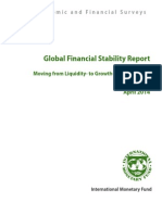 IMF Global Financial Stability Report Apr 2014