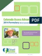1 colorado access advantage summit special needs 01-01-14
