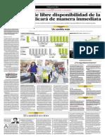 Aumento Libre Disponibilidad de CTS No Se Aplicará de Inmediato_El Comercio 11-07-2014