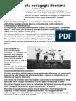 Pannello 16 - Ruolo Pedagogia Libertaria