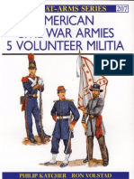 Men-At-Arms 207 - American Civil War Armies (5) Volunteer Militia