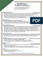 Resume July 2014