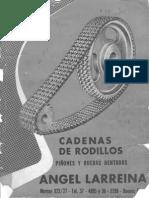 Angel Larreina - Cadenas de Rodillos