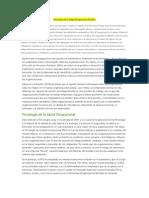 Psicología de La Salud Ocupacional Positiva
