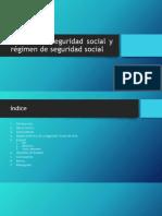 Sistema de Seguridad Social y Régimen de Seguridad