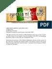 A Primer on the Beliefs of The Iglesia ni Kristo
