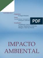 Ley Nacional Del Sistema y Evaluacion Del Impacto Ambiental