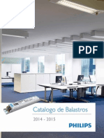 Catalogo Balastros Philips 2014