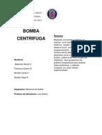 Informe 5 Bomba Centrifuga