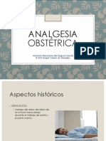 Analgesia Obstétrica