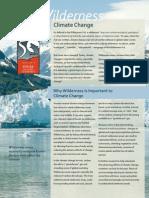 Wilderness ClimateChange
