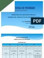 Diseño Del Proy. de Investigación - Sesión 1 y 2