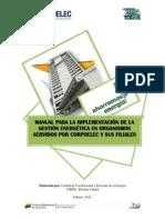 Manual Para La Implementación de La Gestión Energética en Organismos