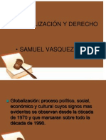 Diapositiva de Globalizacion Samuel Vasquez