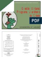 Gestão Urbana Programa Jardineiro Da Cidade