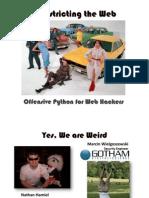 DEFCON 18 Hamiel Wielgoszewski Offensive Python